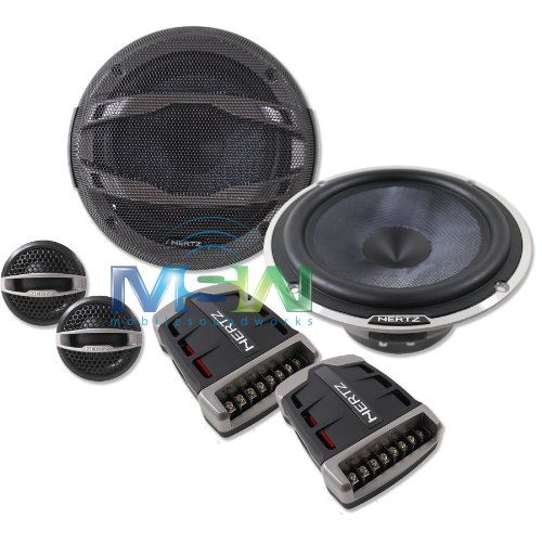 hsk 165 xl - Hertz 6.5 2-Way Component Speakers