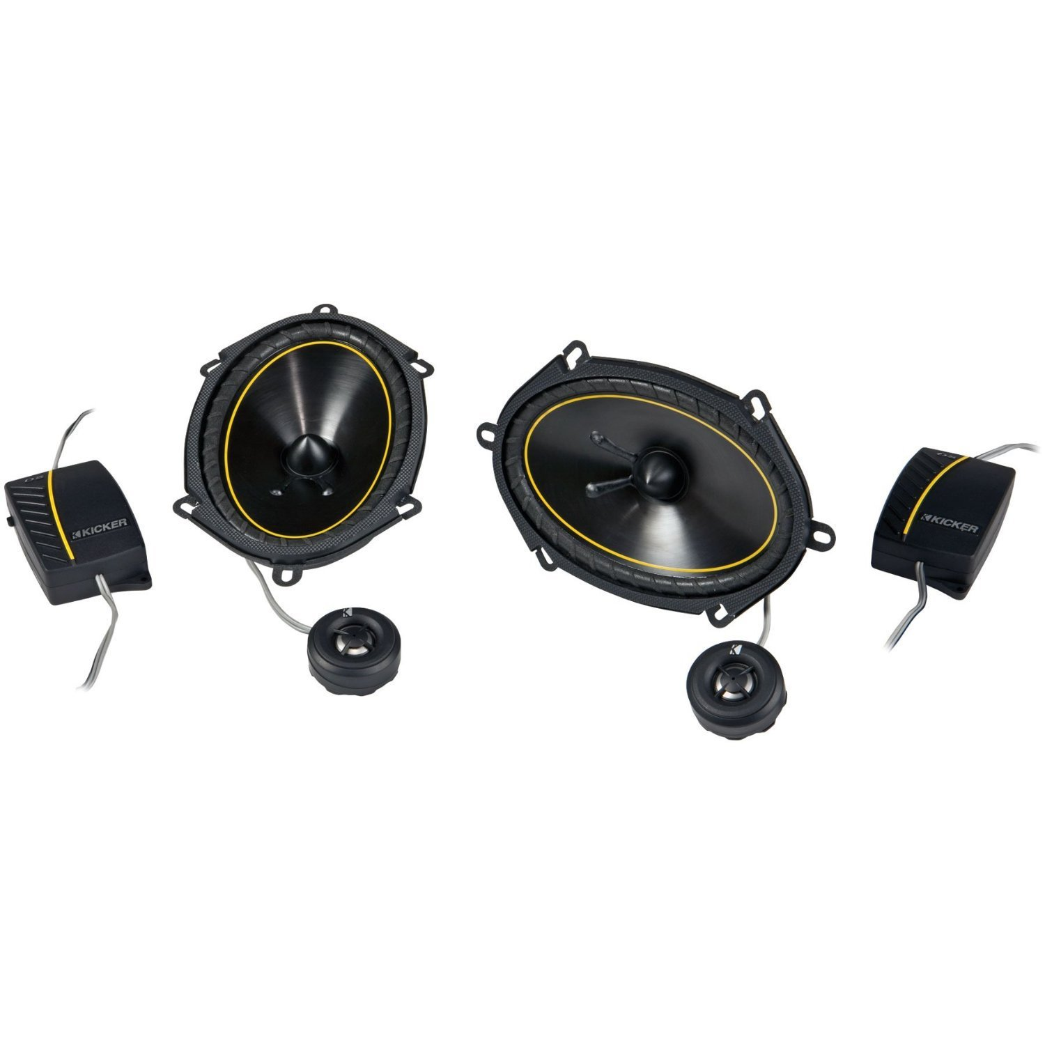 Kicker 11ds682 6x8 Component Speaker W20mm Twt