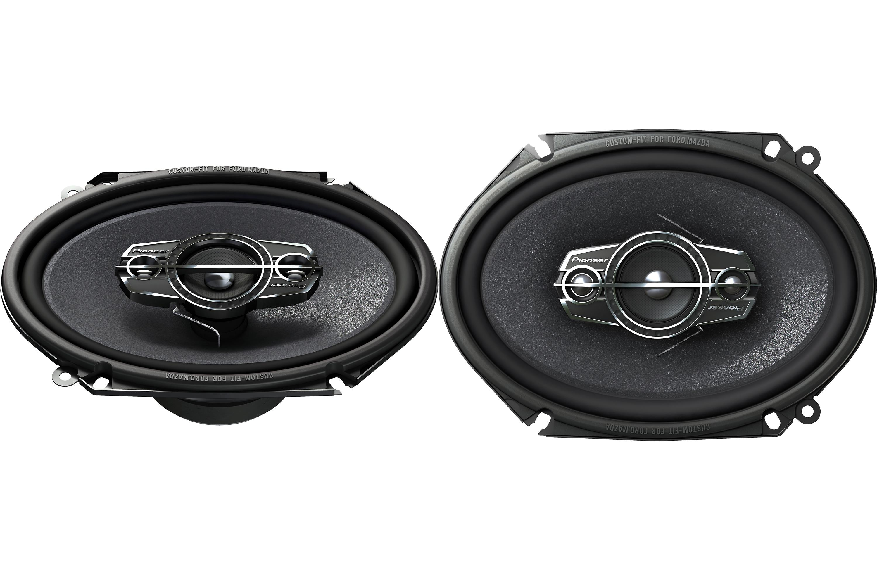 Pioneer TS-A6885R 6x8 4-Way TS Series Coaxial Car Speakers